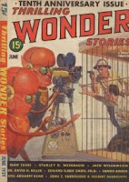 Cover image of Thrilling Wonder Stories magazine, June 1939 issue