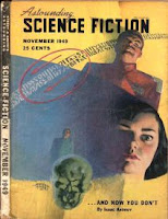 Cover image by Rogers of Astounding Science Fiction magazine, November 1949 issue