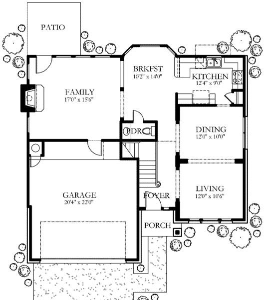 Plano de casa de 2 pisos 3 habitaciones y 200 metros for Plano casa habitacion