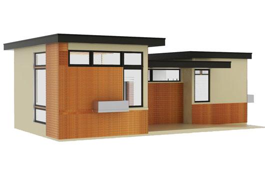 Plano de casa de un dormitorio y 50 metros cuadrados - Plano piso 50 metros ...
