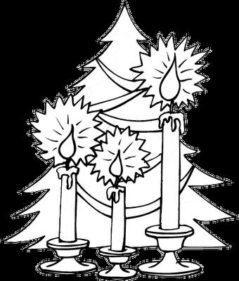 Arboles de navidad para colorear navidad de deseos - Imagenes navidenas para colorear ...