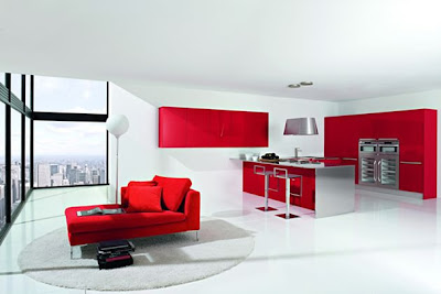 stylish,and,trendy,red,kitchen,designs