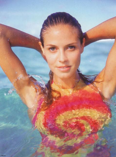 Heidi Klum Body Painting Pics