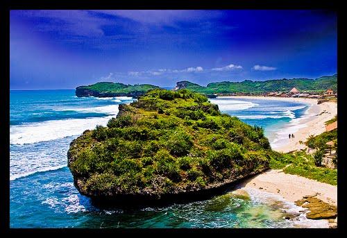 Krakal Beach,Java Beach, Jogyakart