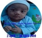2nd Contest - Mama Adha ; Baby In Blue Contest