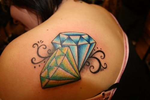 Labels: Diamond Tattoo Style