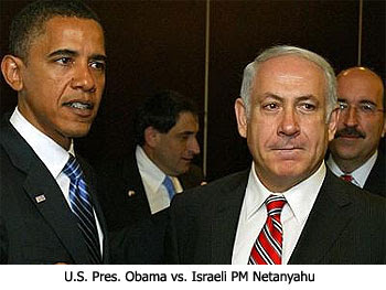 Obama vs.  Netanyahu