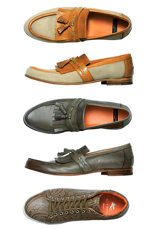 Etro spring summer 2011 mens bags shoes and accessories