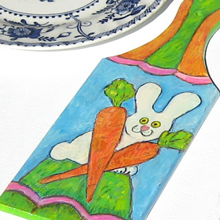 Decorative Cutting Board - Bunny