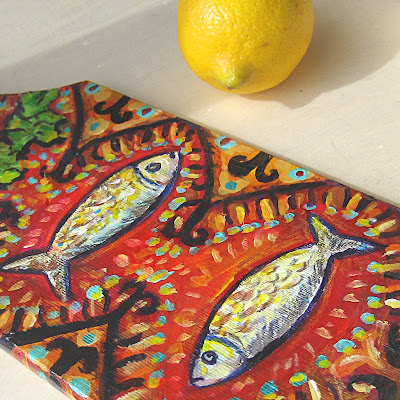 The Fish Decorative cutting board