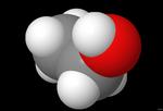 Molécula de etanol