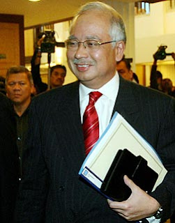 Perdana Menteri Malaysia YAB Dato' Sri Haji Mohd Najib bin Tun Haji Abdul Razak