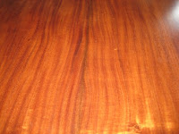 Heirloom Hawaiian Furniture Koa wood grain