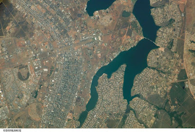Brasilia en Google Earth