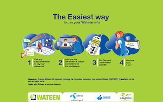Wateen EasyPaisa Billing