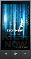 Kick Now Windows Phone 7 Application by Pakistan