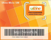 Ufone Micro Sim