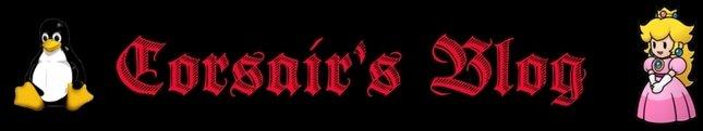 Corsair's Blog