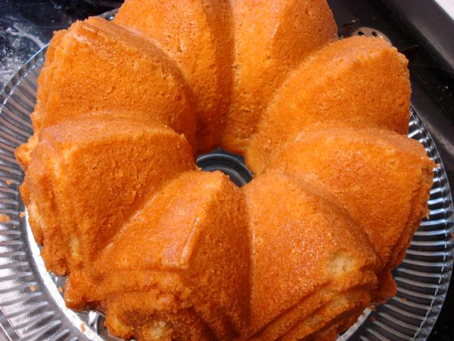 Brandy-and-Rum-Glazed Pound Cake Recipes — Dishmaps