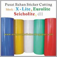 bahan sticker