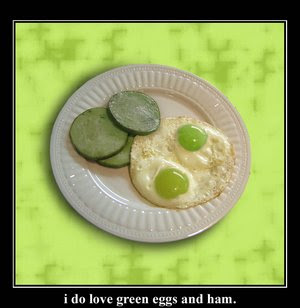 green eggs and canadian bacon