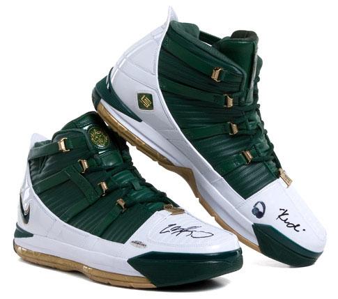 lebron james signed shoes upper deck