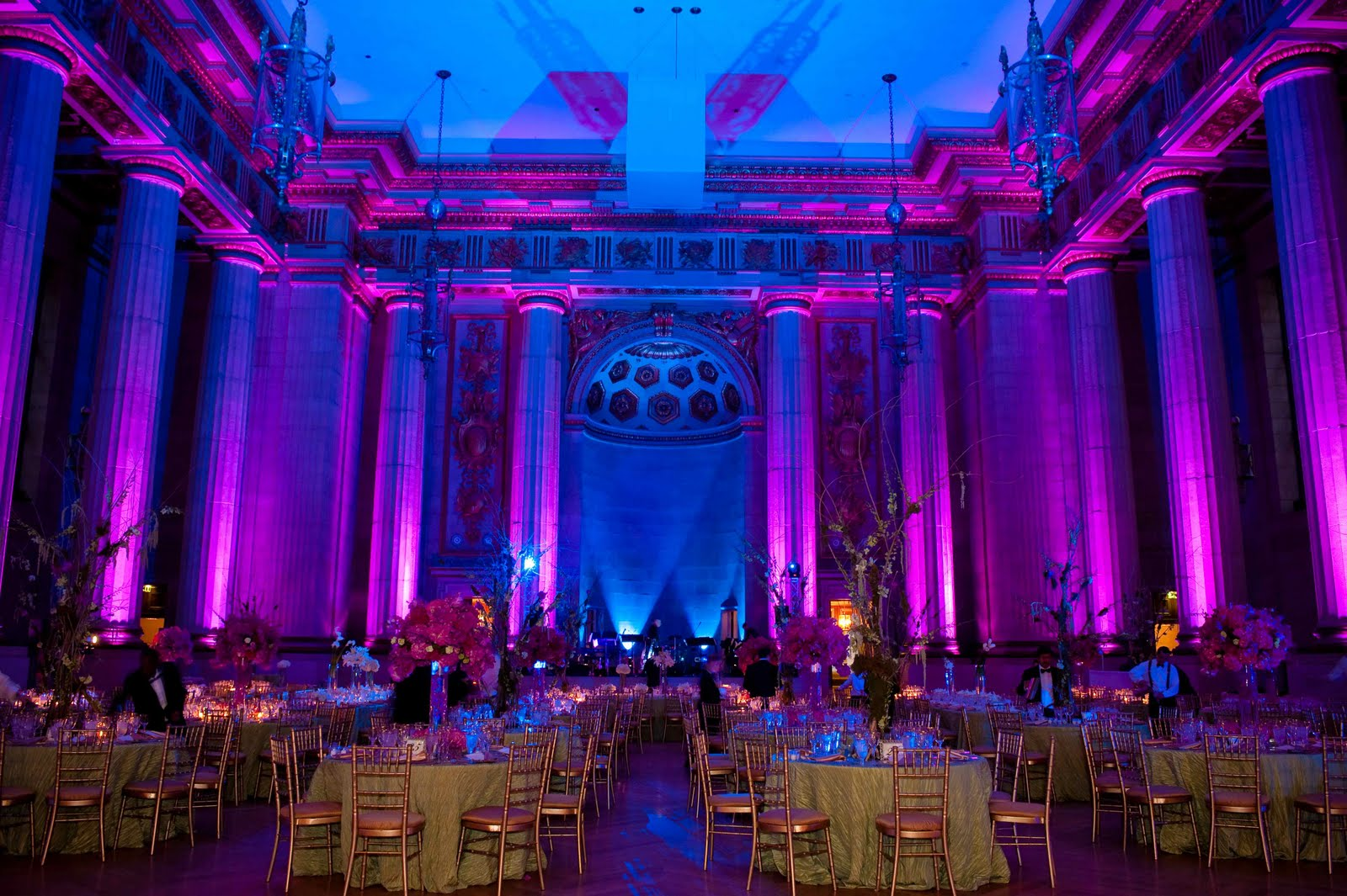 Andrew Mellon Auditorium Wedding Davinci Florist