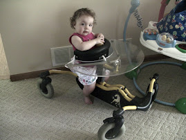 Greta's first walker