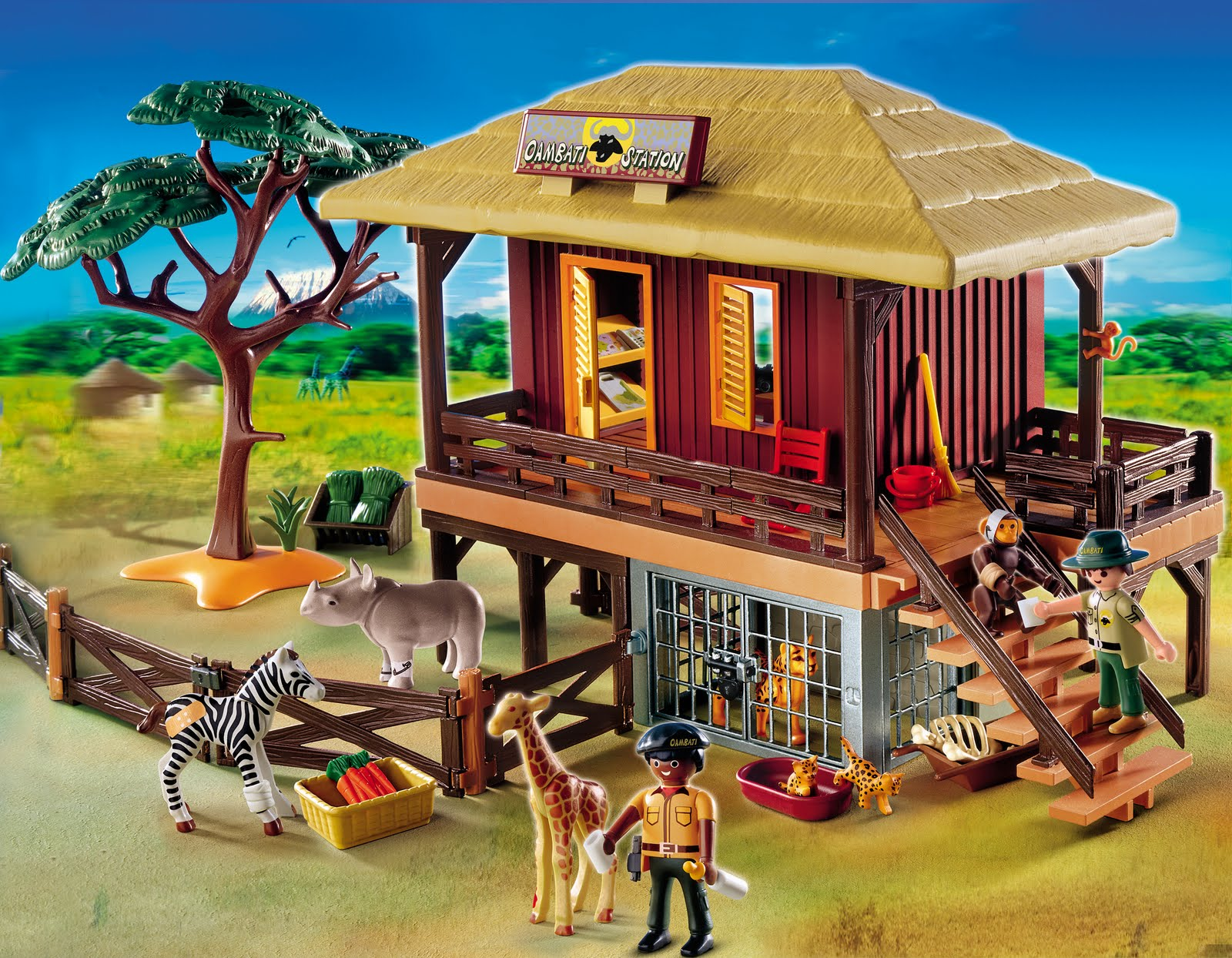 Bonggamom Finds: Playmobil Wildlife Care Station