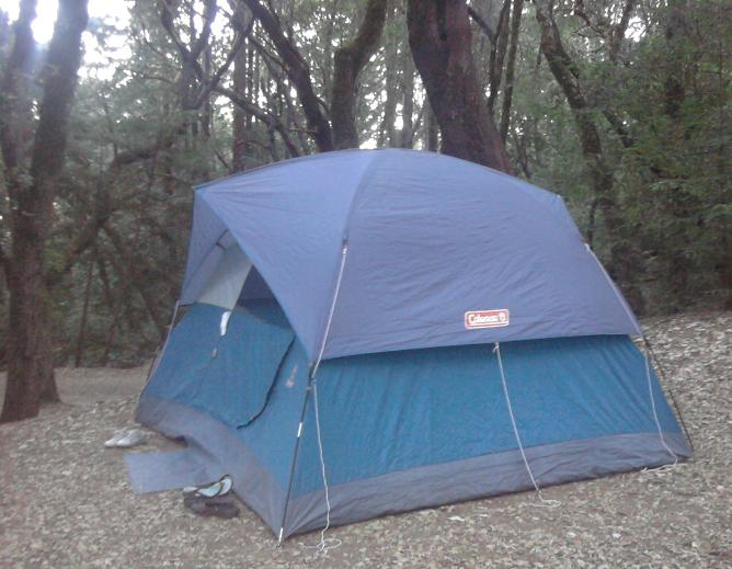 C&ing with Coleman 6 Person Sundome Tent Review & Bonggamom Finds: Camping with Coleman: 6 Person Sundome Tent Review