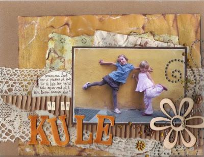 Scrapbooking tips; oppbevaring av barnas kunst!