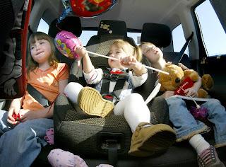 Snart tid for bilferie med barna!