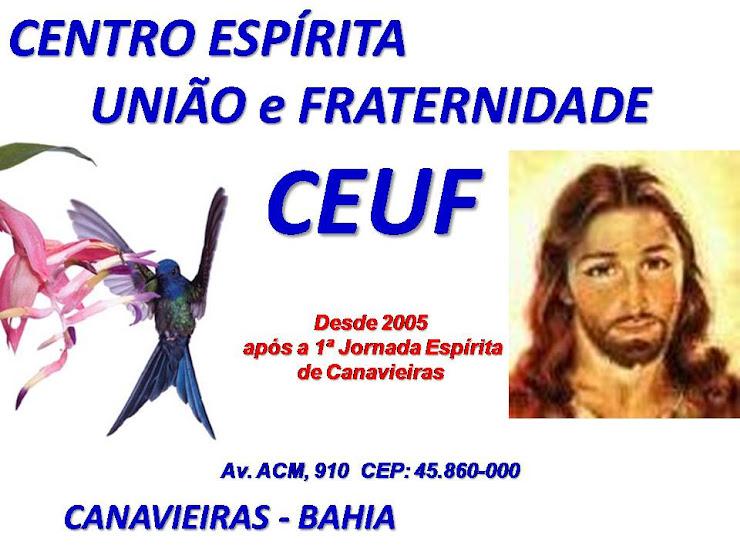 CEUF  .  Centro Espírita União e Fraternidade