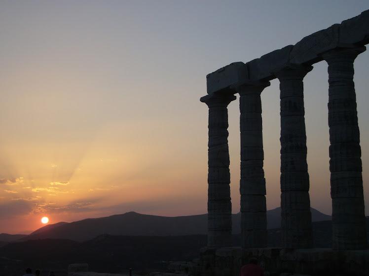 CREPUSCULO DE LOS DIOSES EN SUNION (GRECIA)