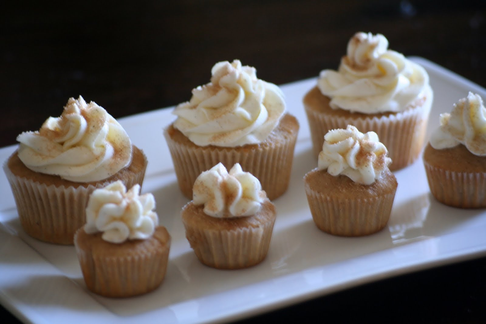 Coffee and Cannolis: Snickerdoodle Cupcakes