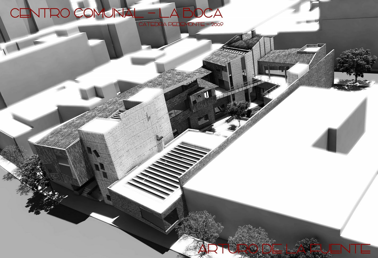 Arquitectura Digital Centro Comunal La Boca
