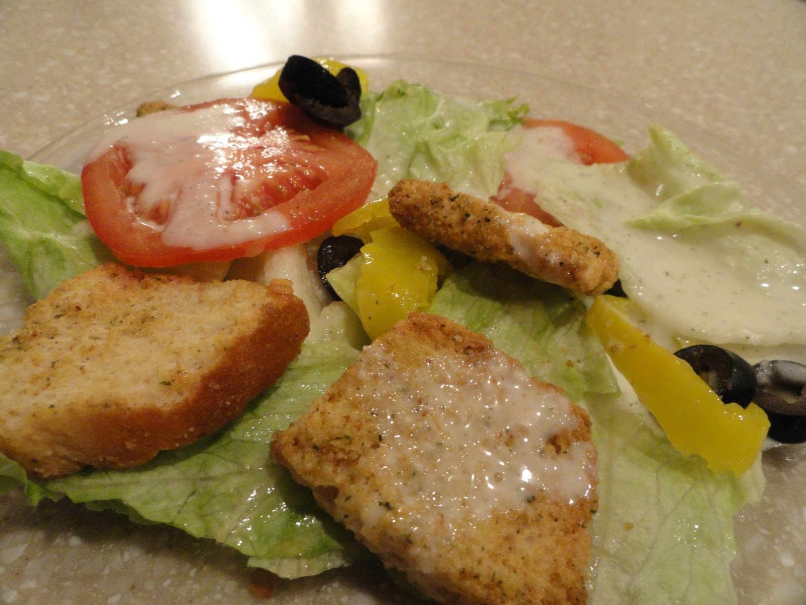 Recipes from Stephanie: Olive Garden Salad