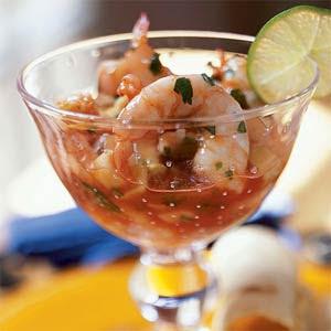 Recipe for shrimp seviche