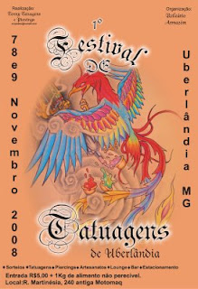 1º Festival de Tatuagem de Uberlândia