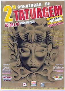 Cartaz da 2ª Convenção de Tatuagem de Vitóriaar