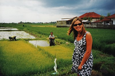BALI, EN LOS CAMPOS DE ARROZ
