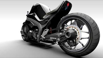 Ostoure-Super Naked-persian-Bike