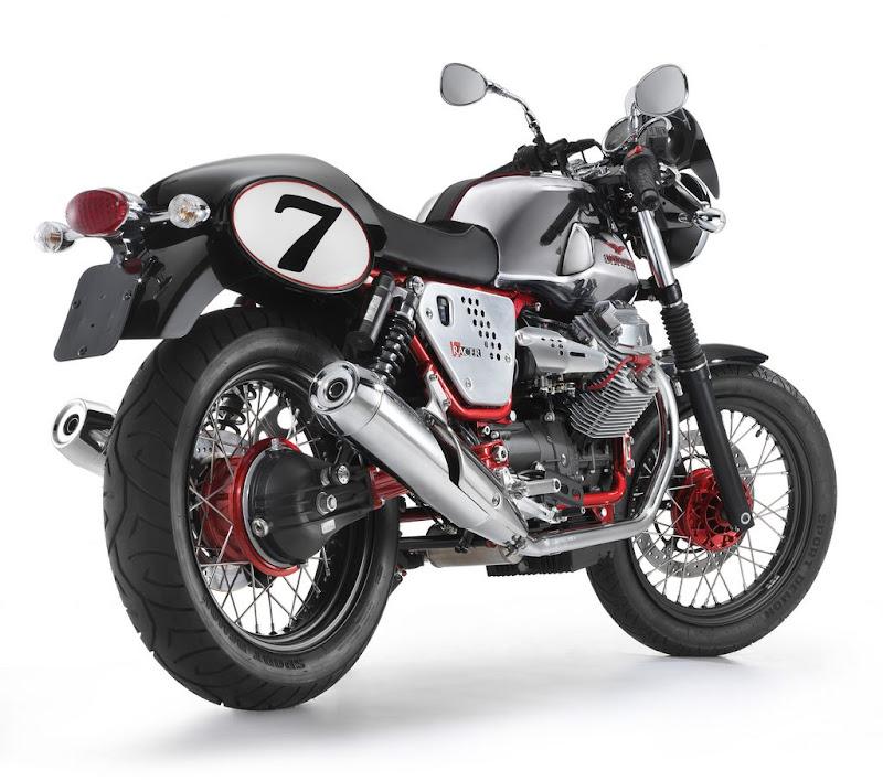 Best motorcycle classic model Guzzi V7,NEW 2011 Moto Aprilia Guzzi V7 Racer Specification