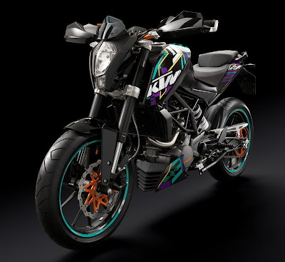 Designed and developed in partnership with the Indian 2011 KTM 125 Duke