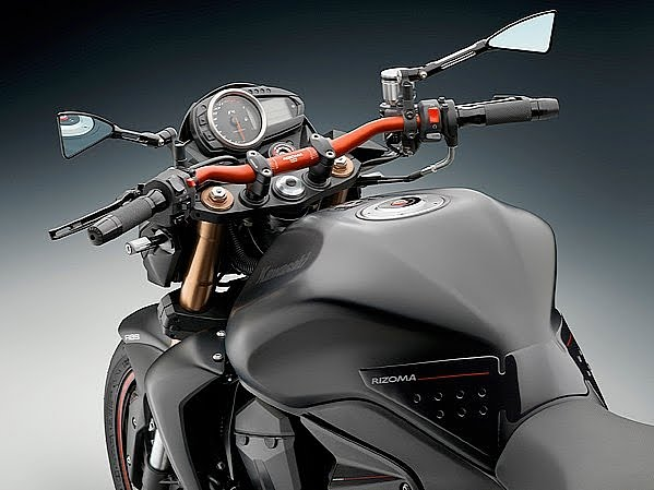 2011 Kawasaki Z750R Gets Rizoma Styling Kit
