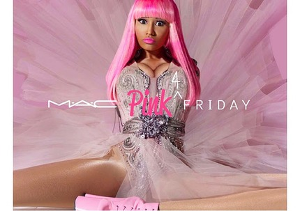 M.A.C & Nicki Minaj Pink Friday Lipstick - Swatches and Thoughts.