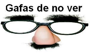 Gafas de no ver