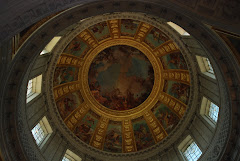 The Ceiling Above Napoleon's Tomb