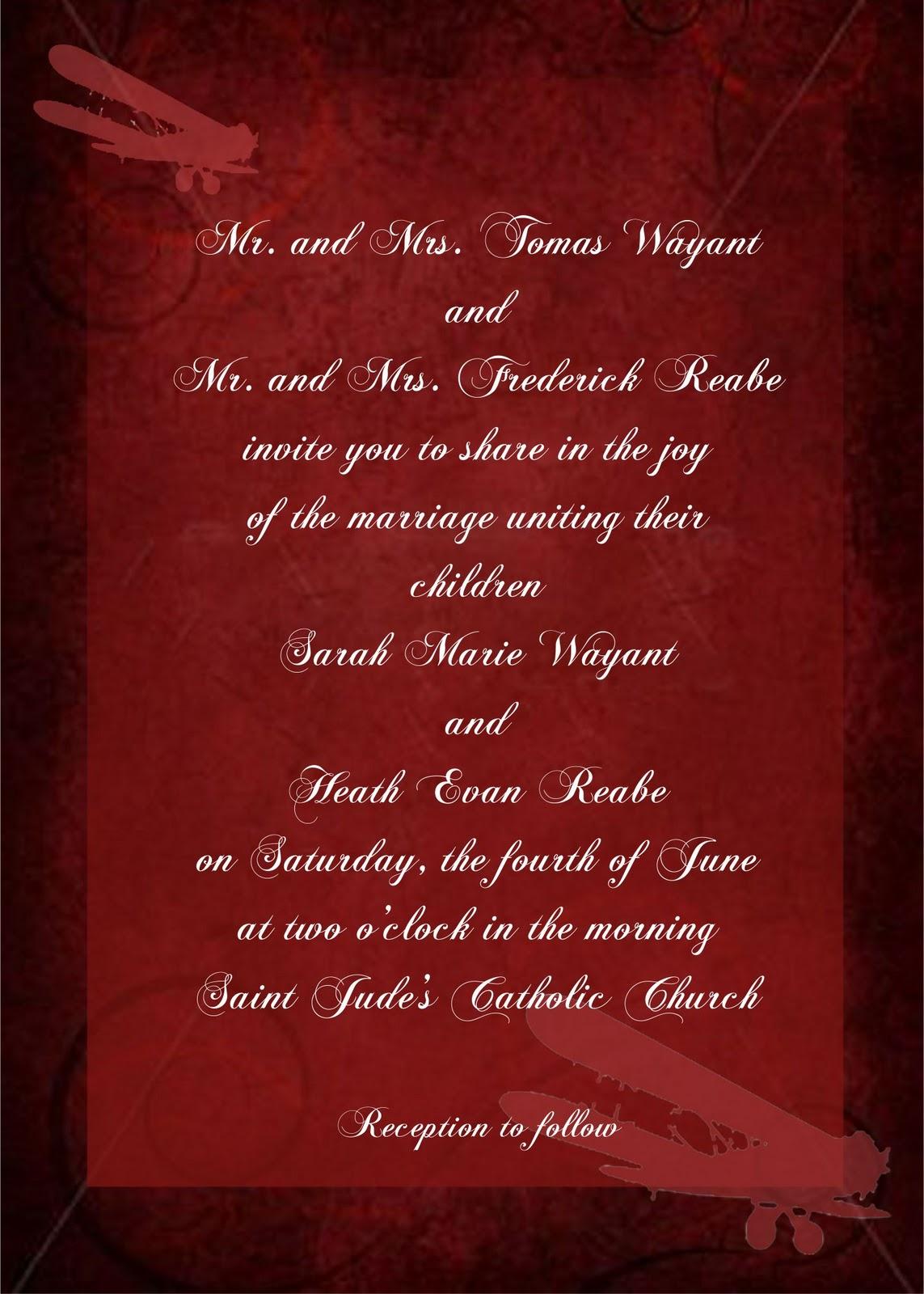 wedding invitation acceptance poem - Picture Ideas References