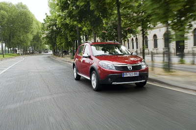 New Dacia Sandero Stepway 2009 2010